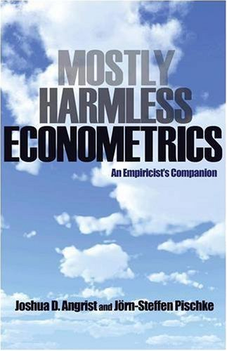 Mostly Harmless Econometrics: An Empiricist's Companion 9780691120355