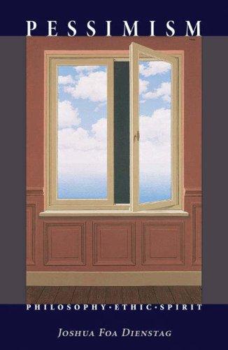 Pessimism: Philosophy, Ethic, Spirit 9780691125527