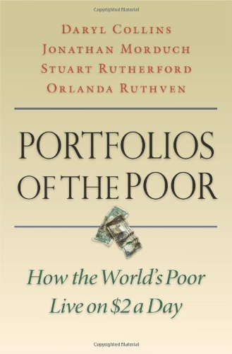 Portfolios of the Poor: How the World's Poor Live on $2 a Day 9780691148199