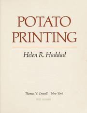 Potato Printing (9780690040890) photo