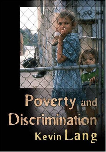 Poverty and Discrimination Poverty and Discrimination 9780691119540