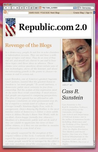 Republic.com 2.0 9780691143286