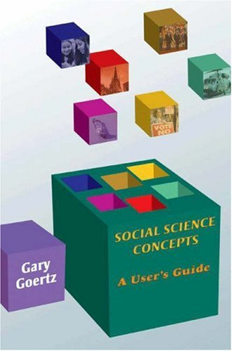 Social Science Concepts: A User's Guide 9780691124117