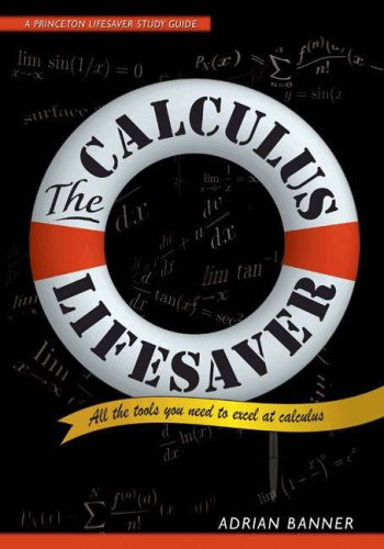 The Calculus Lifesaver: All the Tools You Need to Excel at Calculus 9780691130880