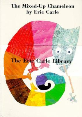 The Eric Carle Library: The Mixed-Up Chameleon/ Do You Want to Be My Friend?/ The Secret Birthday Message 9780694012268