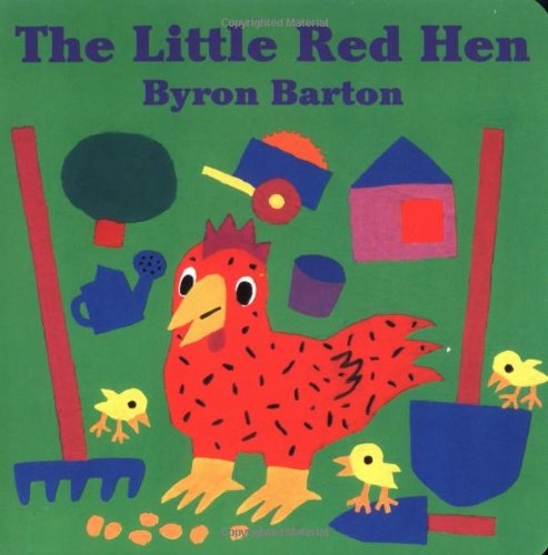 The Little Red Hen Board Book 9780694009992