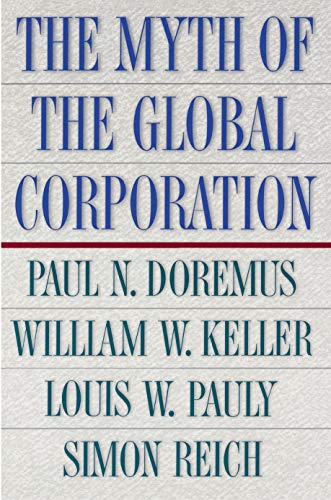 The Myth of the Global Corporation 9780691036366