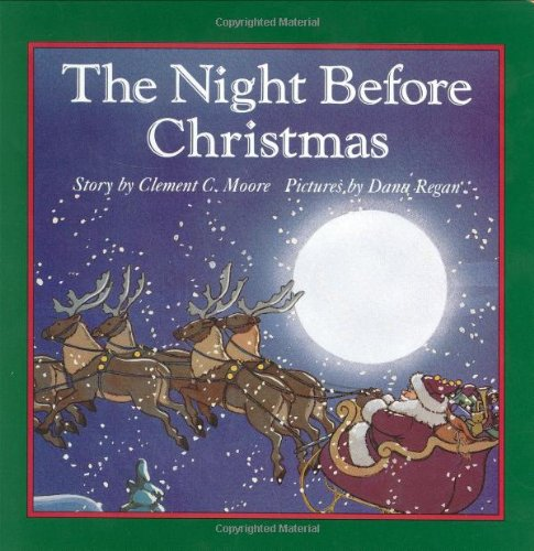 The Night Before Christmas Board Book by Robbie Trent, Clement Clarke ...