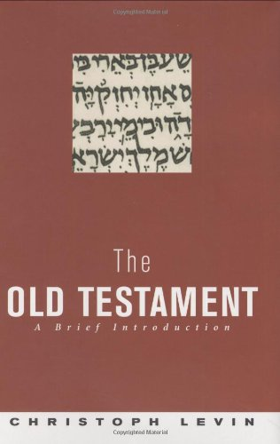 The Old Testament: A Brief Introduction 9780691113944