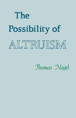 The Possibility of Altruism 9780691020020