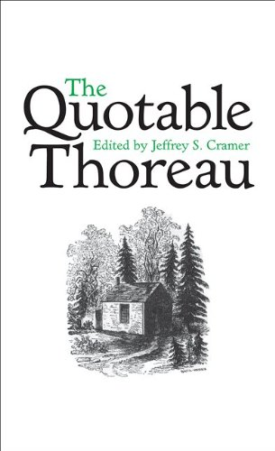 The Quotable Thoreau 9780691139975