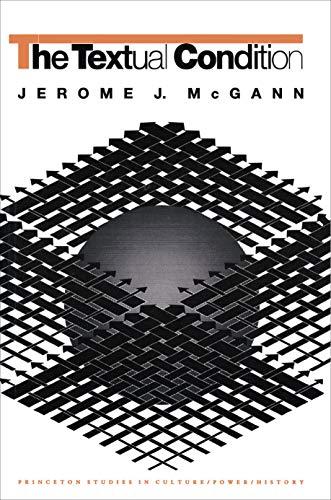 The Textual Condition - McGann, Jerome J. / McGann / Pound, Ezra