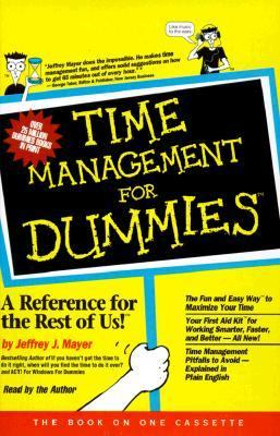 Time Management for Dummies (Audio) 9780694517442