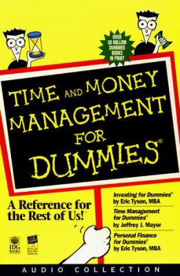 Time and Money Management for Dummies 9780694520275