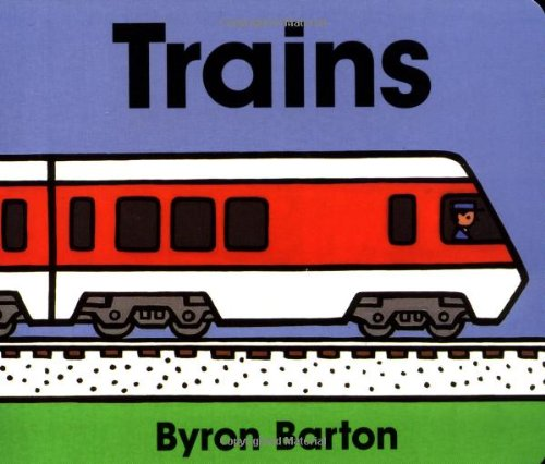 Trains Board Book 9780694011674