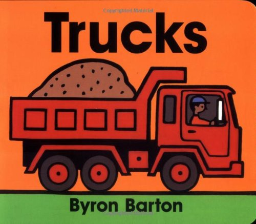 Trucks Board Book 9780694011643