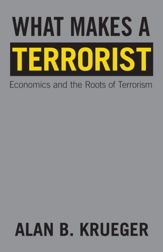 What Makes a Terrorist: Economics and the Roots of Terrorism 9780691134383