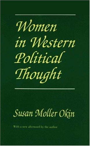 Women in Western Political Thought - Okin, Susan Moller