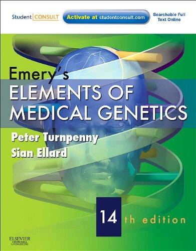 Emery's Elements of Medical Genetics 9780702040436