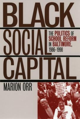 Black Social Capital 9780700609826
