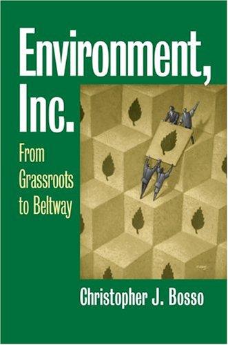 Environment, Inc. 9780700613687