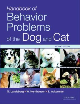 Handbook of Behavior Problems of the Dog and Cat [With CDROM] 9780702027109