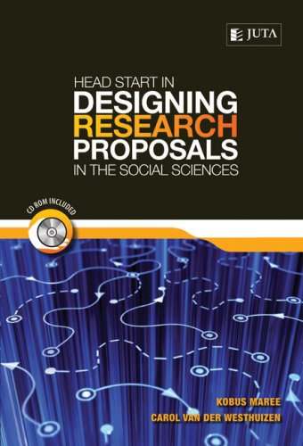 Head Start in Designing Research Proposals in the Social Sciences [With CDROM] 9780702177224