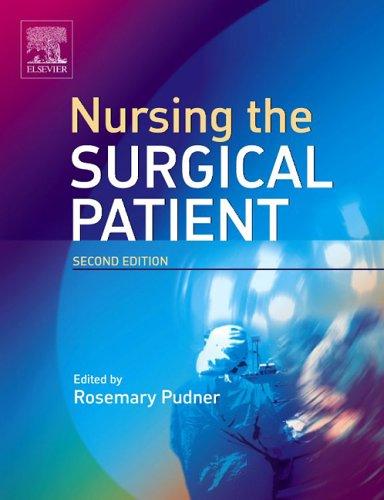 Nursing the Surgical Patient 9780702027574