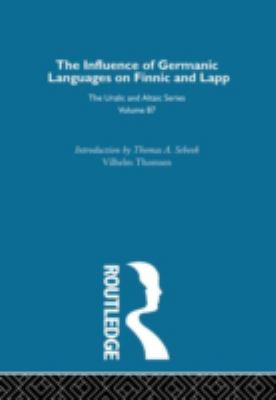 On the Influence of Germanic Language on Finnic and Lapp 9780700708871