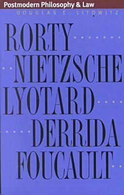 Postmodern Philosophy & Law (PB) 9780700609994