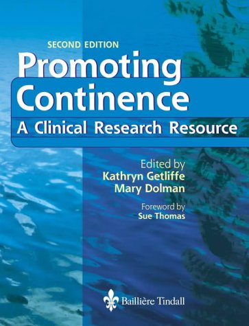 Promoting Continence: A Clinical and Research Resource 9780702026379
