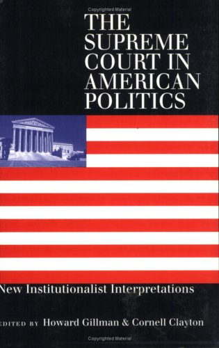 Supreme Court/American Politics(pb 9780700609765