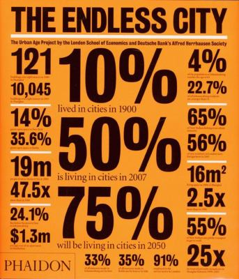The Endless City: The Urban Age Project by the London School of Economics and Deutsche Bank's Alfred Herrhausen Society 9780714859569