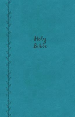 KJV, Value Thinline Bible, Large Print, Imitation Leather, Blue, Red Letter Edition