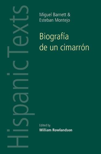 Biografia de un Cimarron 9780719080913