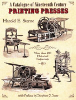 A Catalogue of Nineteenth Century Printing Presses 9780712306638