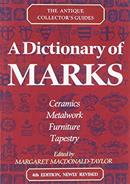 A Dictionary of Marks 9780712653039