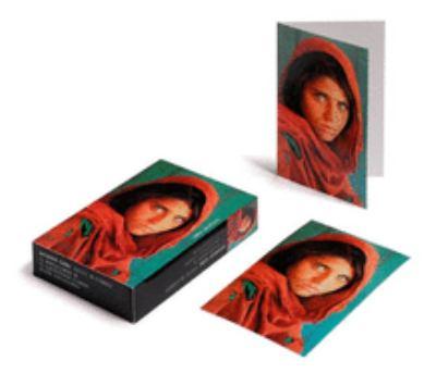 Afghan Girl - Card Box
