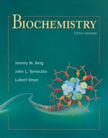Biochemistry, Fifth Edition 9780716730514