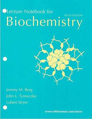 Biochemistry Lecture Notebook 9780716771579