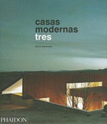 Casas Modernas Tres 9780714898520