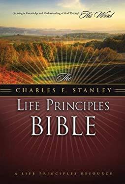 Charles F. Stanley Life Principles Bible-NASB 9780718024987