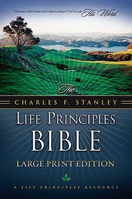 Charles F. Stanley Life Principles Bible-NKJV-Large Print 9780718014629