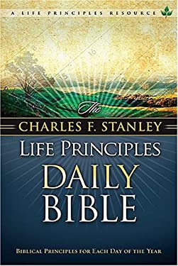 Charles F. Stanley Life Principles Daily Bible-NKJV 9780718020101