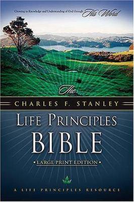 Charles Stanley Life Principles Bible-NKJV-Large Print 9780718014636