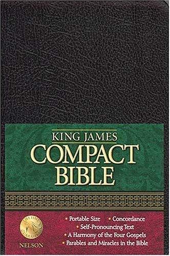 Compact Text Bible-KJV 9780718001346