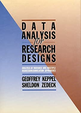 Data Analysis for Research Designs 9780716719915