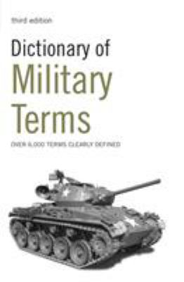 Dictionary of Military Terms 9780713687354