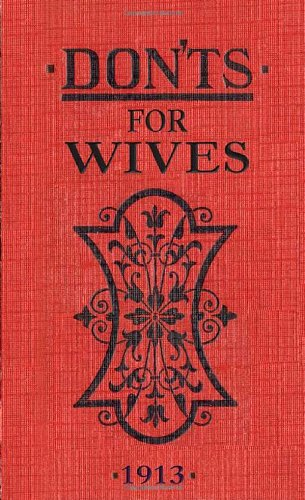 Don'ts for Wives 9780713687903