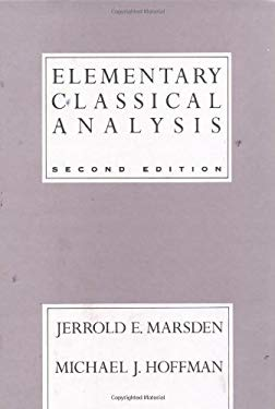 Elementary Classical Analysis 9780716721055